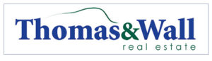 Thomas and Wall Real Estate Logo Floyd Virginia